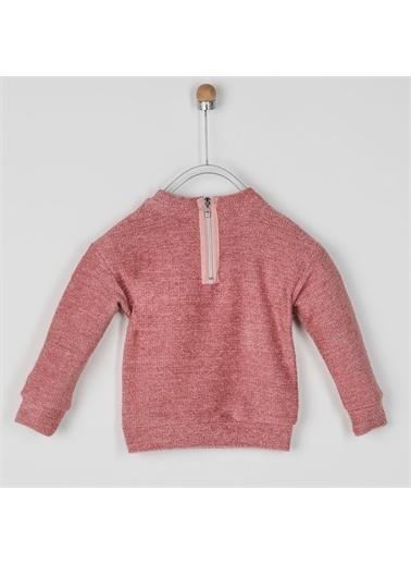 Panço Kız Çocuk Sweatshirt 2021GK08013 Pembe
